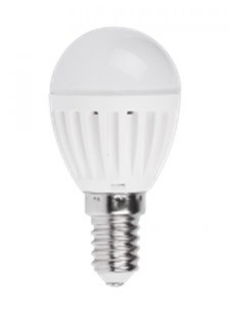 TBENERGY Lampa LED 5W  230V E14 kulka neutralny