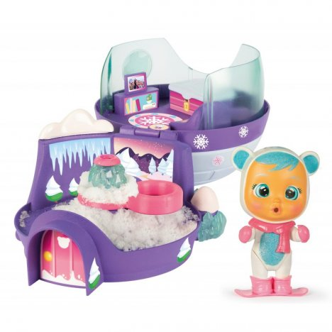 IMC Toys Cry Babies Magic Tears - Zestaw Igloo Kristal + Laleczka 90934