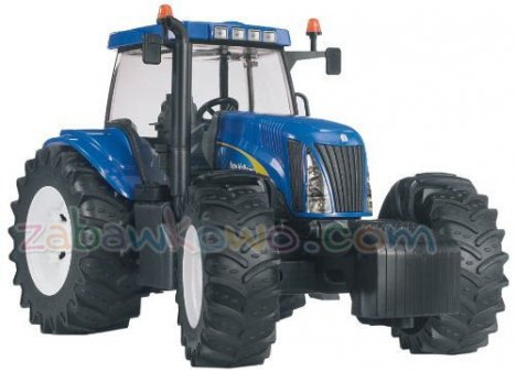 BRUDER 03020 Traktor New Holland TG285