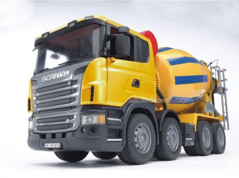 BRUDER 03554 Betoniarka SCANIA