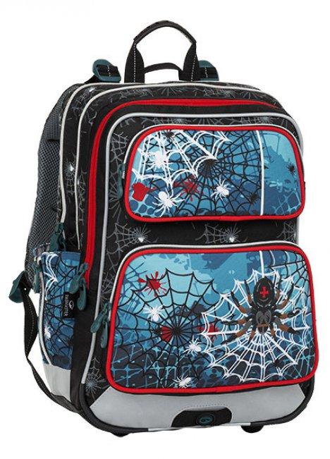 e1926849506a4 BAGMASTER Plecak szkolny GALAXY 8 B BLACK BLUE RED - sklep ZABAWKOWO ...